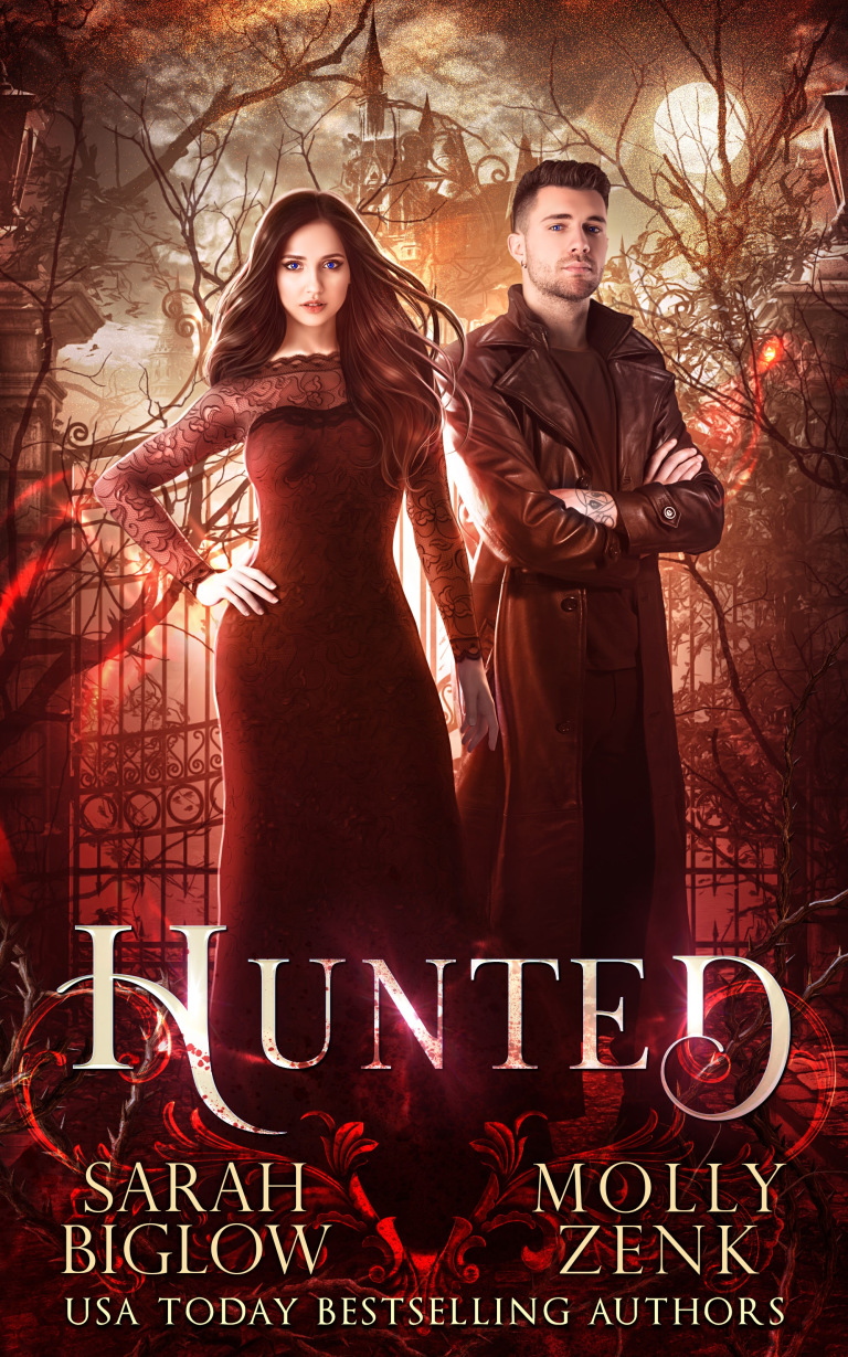 Hunted, a book co-written by Sarah Biglow and Molly Zenk, is out!